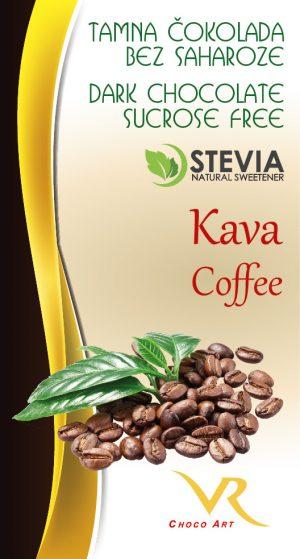 Čokolada bez saharoze kava