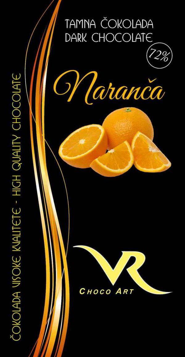 Čokolada naranča