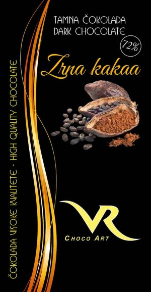 Čokolada zrna kakaa