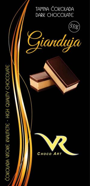 Čokolada gianduja