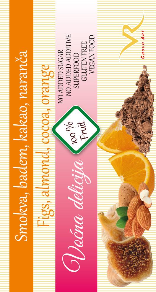 Smokva, badem, naranča, kakao